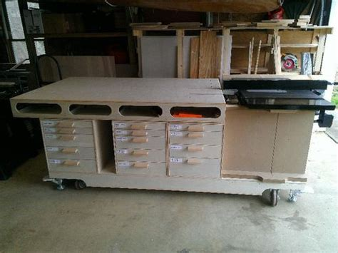 mobile woodworking bench ultimate mobile woodworking bench umwb 9 overall