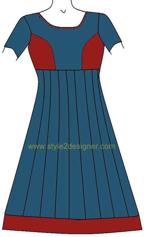 design dress cutting and stitching types of anarkali patterns style2designer