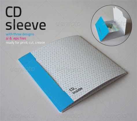 Cd Sleeve Tutorialchip Cd Packaging Templates