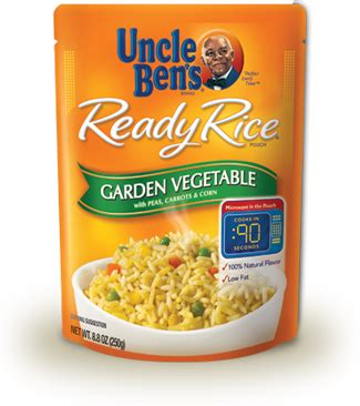 Garden Vegetable Rice Uncle Ben S 174 Products Uncle Ben S 174 Ready Rice 174 Garden