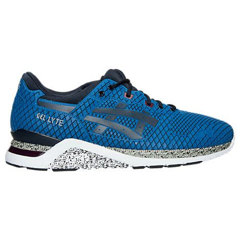 to buy mens casual shoes asics gel lyte evo blue navy