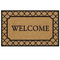 door mats welcome doormats