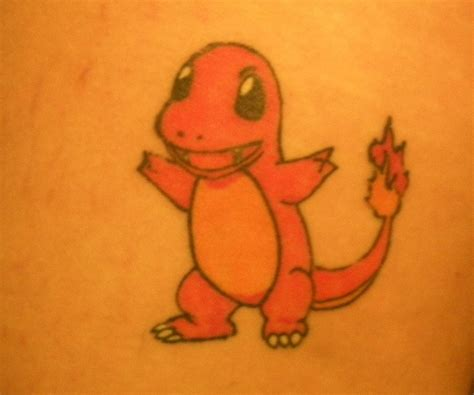 charmander tattoo charmander accomplishments i ve actually