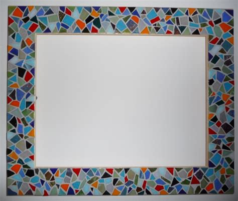cornici mosaico mosaic frame artclubblog