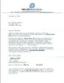 Charity Golf Tournament Sponsorship Letter Template letter of receipt of donation submited images