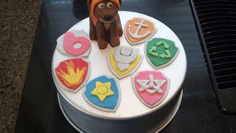 Paw Patrol Fondant Cakes   Fondant Cake Images