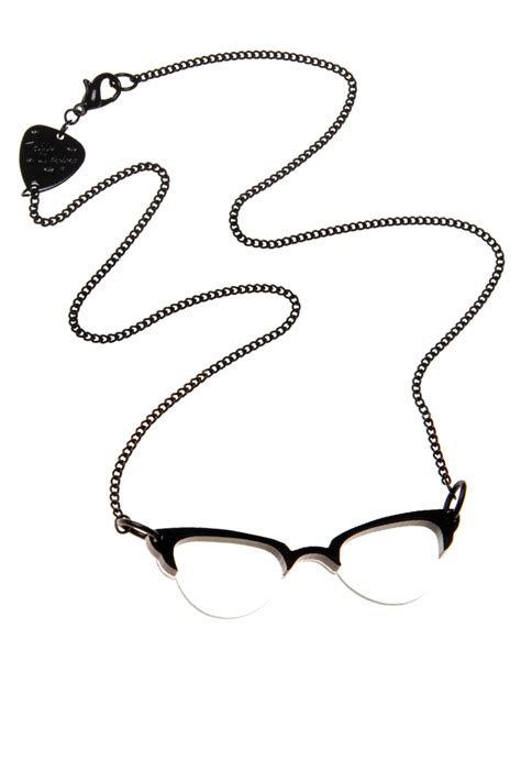Tatty Devines Glasses Necklace by Tatty Glasses Necklace From Bastille By Corner Des