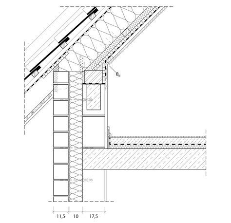 gesims dach 4 5 1 2 anschlusspunkt dach architektenordner