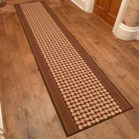 Hallway Runners Rugs by Brown Runner Rug Lapulga Carpet Runners Uk