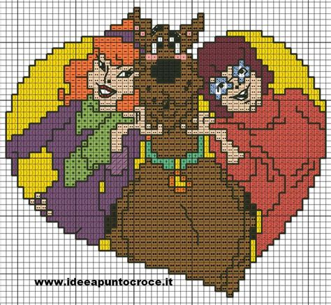 pattern xsd d 85 best images about hama og broderi scooby doo on