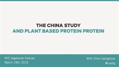 protein nyc the china study and plant based protein nyc vegetarian
