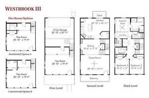 live work floor plans westbrook iii live work townhome floor plans regent homes