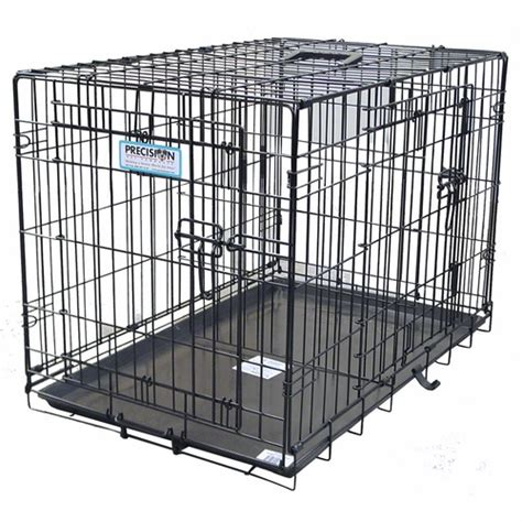 how can a puppy stay in a crate provalu 4000 two door folding crate 109 95