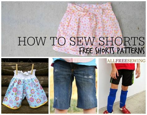 pattern making for shorts how to sew shorts 40 free shorts patterns