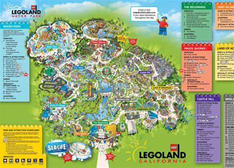 legoland map legoland california map