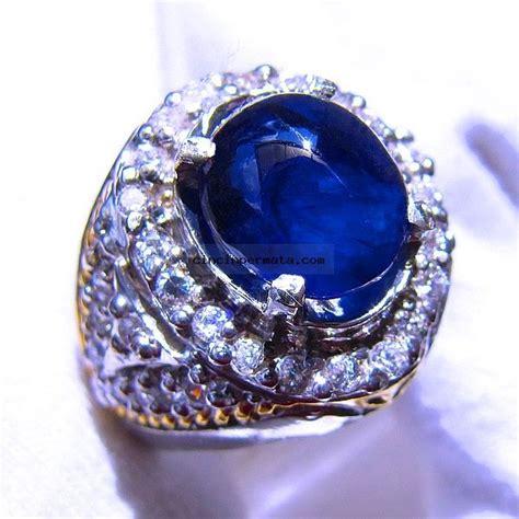 Blue Safir cincin blue safir sa024 cincinpermata jual batu