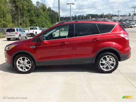 2013 ford escape colors 2013 ruby metallic ford escape se 1 6l ecoboost