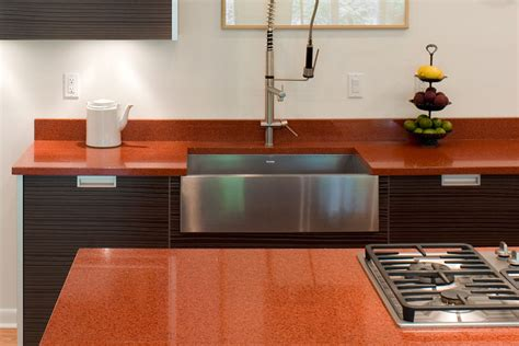 eco friendly kitchen countertops  recycled glass