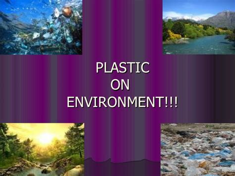 Plastic Bags Pollution Essay by Plastic Pollution Ppt
