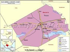 navarro county map