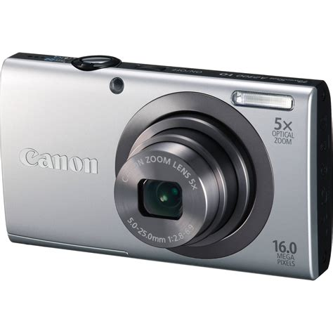 Kamera Digital Canon Ps A2300 canon powershot a2300 digital silver 6184b001 b h photo