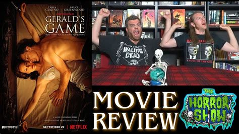 film review quiz show quot gerald s game quot 2017 netflix stephen king thriller movie