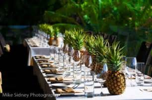 Inexpensive Vases For Centerpieces Tropical Pineapple Wedding Centerpieces Budget Brides