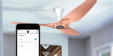 smart ceiling fan simple ways to automate your ceiling fan