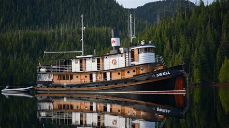 tug boats for sale bc canada mv swell maple leaf adventures