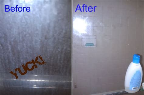 How To Clean Bathroom Shower How To Keep A Glass Shower Door Clean