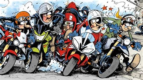 Motorrad Comics Bilder Kostenlos by Motomania Holger Aue Comic Abenteuer Mit Motorr 228 Dern