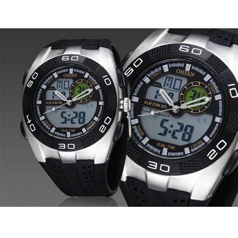 Ohsen Waterproof Quartz Digital Sport Ad0828 1 ohsen waterproof quartz digital sport ad0828 1 black jakartanotebook