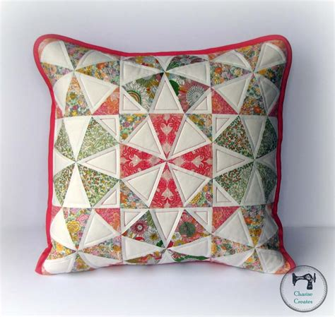 Quilt Pillow Patterns by Kaleidoscope Pillow Pattern Tutorial Sew Sew