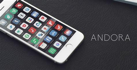 themes for iphone 6 ios 8 4 andora theme ios8 released iosthemes