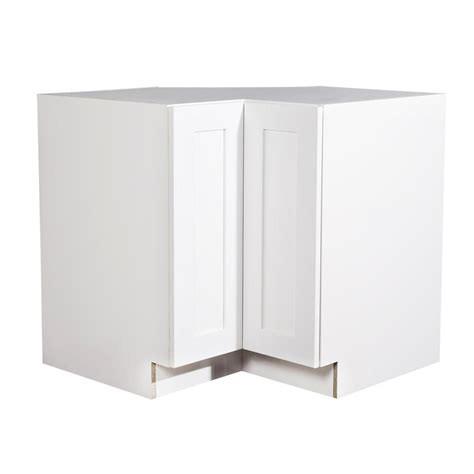 White Corner Kitchen Cabinet by Krosswood Doors Ready To Assemble 36x34 5x36 In Shaker 90