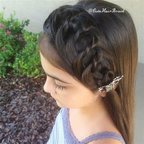 cute girl hairstyles knotted headband 20 creative braided back to school haistyles