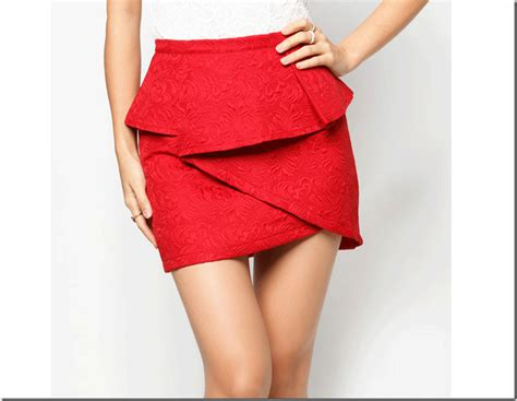 How To Make Paper Skirt - fashionista now origami peplum fashion inspiration