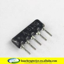 resistor network image network resistor a512g a05 512 5 1k 1 buy electronic components ic module network resistor