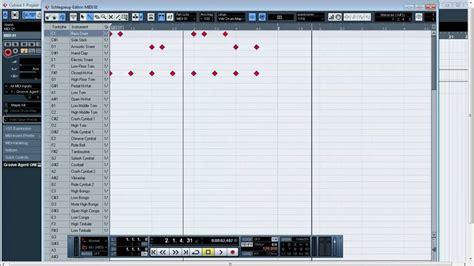 tutorial drum beats cubase 5 basics tutorial drum beats erstellen einfach