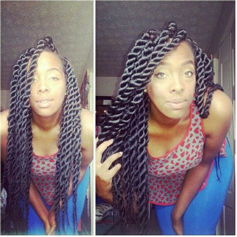 What Kind Of Hair For Jumbo Senegalese Twist | jumbo senegalese twist hair weave extention curly