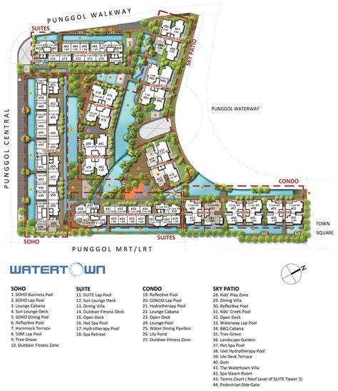 condo layout watertown condominium new punggol condominium
