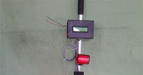 Tongkat Orang Buta projek elektronik tongkat orang buta