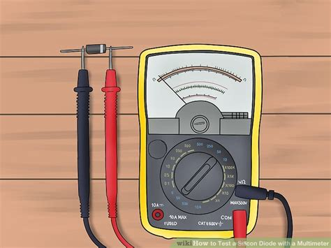 diode function multimeter 3 ways to test a silicon diode with a multimeter wikihow