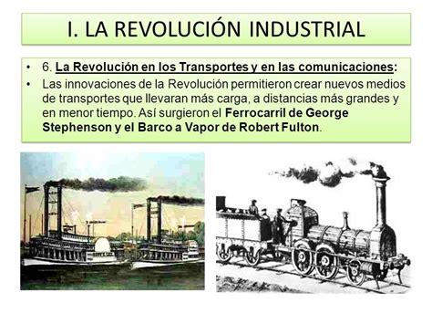 barco a vapor primera revolucion industrial i la revoluci 211 n industrial ppt descargar
