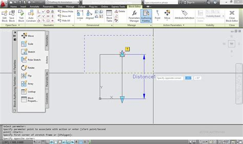 tutorial autocad dynamic blocks stretch feature dynamic block tutorial in autocad