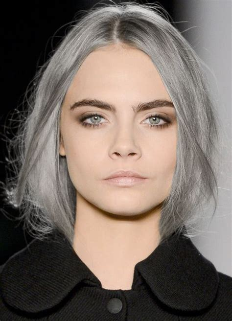 which shade of blonde will brighten up face this silver hair matters perfect hair pinterest