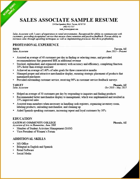 bunch ideas of good sales associate objective resume objective for