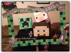 printable minecraft photo booth props 1000 images about photo frame party and photo boots on
