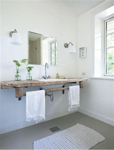 cottage style badezimmerideen encantadores ba 241 os r 250 sticos decoraci 243 n de interiores y