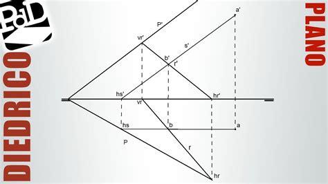 puntos rectas y planos 1 plano definido por una recta y un punto sistema di 233 drico
